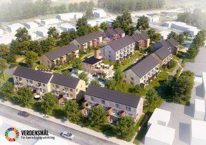 B2B case Sønderhaven i Brædstrup for bæredygtig udvikling med solcelletag